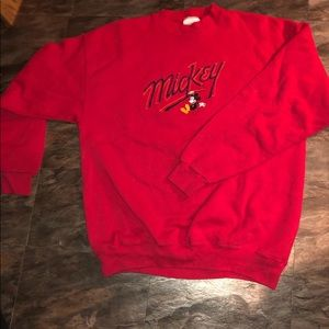 Vintage Mickey Mouse crewneck size large